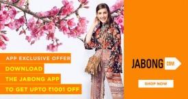 Jabong Jabong App Offer : Download The Jabong App To Get Upto Rs. 1000 OFF