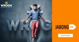Jabong Avail Upto 60% OFF on Wrogn Only On Jabong.