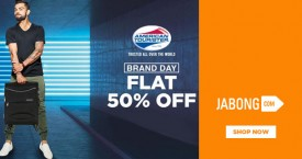 Jabong Flat 50% OFF on American Tourister