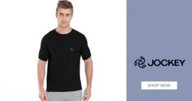 Jockeyindia New Arrivals : Jockey Mens T-shirts Starts From Rs. 399