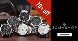Jomashop Hot Deal : Get Upto 70% OFF on Men's Watches