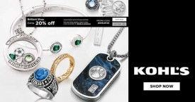 Kohls Kohl's Offer : Get 20% OFF on Fine And Silver Jewellery