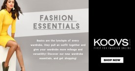 Koovs Fashion Essential Starting From Rs. 399
