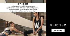 Koovs Best Price : Women's Activewear Starting From Rs. 899