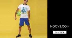 Koovs Koovs Sale : Get Upto 50% OFF on Men's Clothing