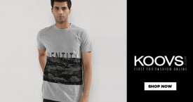 Koovs Get Extra 15% Off on Min. Purchase of Rs. 2000 & Above