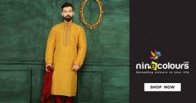 Ninecolours Mega Deal : Men's Kurtas Upto 40% Off