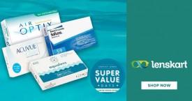 Lenskart Lenskart Contact Lens Deal : Extra 15% OFF At 2 Boxes