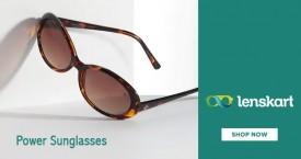 Lenskart Best Price : Power Sunglasses From Rs. 499