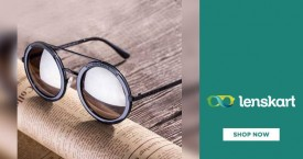 Lenskart Amazing Deal : Round Eyeglasses From Rs. 999 With Lenses