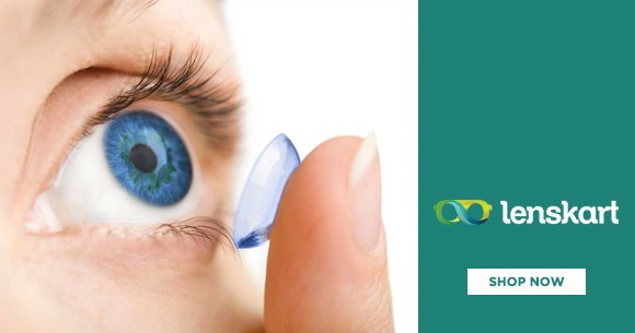June Offer : Extra 10% Off on 2 Boxes of Contact Lenses.