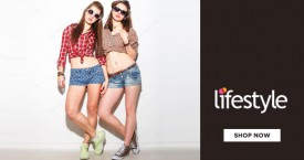 Lifestyle Flat Rs. 1,500 Off on Min. Purchase of Rs. 6,599 & above