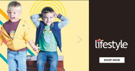 Lifestyle Kids Clothing Offer: Upto 50% OFF on Tops & Tees