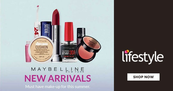 Maybelline New Arrivals : Make Up Lips, Eyes, Nails, Face, Skincare