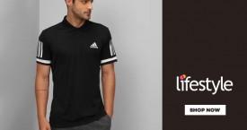 Lifestyle Upto 30% OFF on Adidas