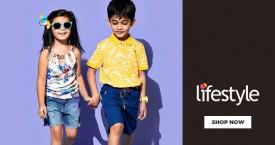 Lifestyle Upto 70% OFF on Kids Wear