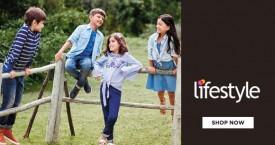 Lifestyle Kids Wear Offer : Get Flat 50% OFF + Upto 15% OFF + 10% Cashback on Orders Above Rs. 2499