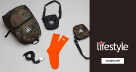 Lifestyle 20% OFF on Men's Accessories