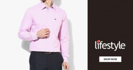 Lifestyle Arrow Sports Men's Wear - Upto 30% OFF