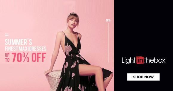 Summer Sale : Maxi Dresses Upto 70% Off