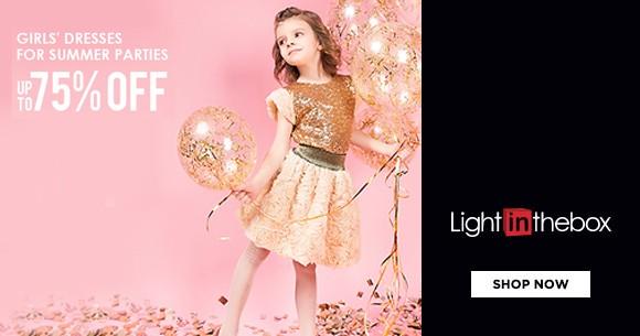 Mega Deal : Upto 75% Off On Flower Girls Dresses