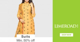 Limeroad Min 50% OFF on Suits