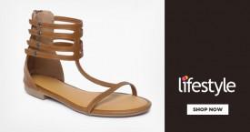 Lifestyle Upto 40% OFF on Women's Flat Footwear