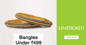 Limeroad Bangles Under Rs. 599