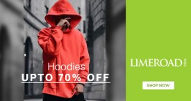 Limeroad Limeroad Offer : Hoodies & Sweatshirts For Men's  Upto 70% OFF