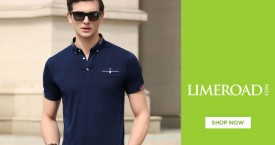 Limeroad Limeroad Offer : Men T-shirts Upto 60% OFF