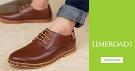 Limeroad Hot Deal : Upto 70% OFF on Men's Footwear Store