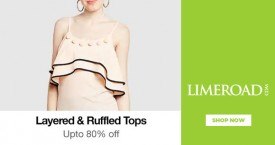 Limeroad Upto 80% OFF on Layered & Ruffled Tops