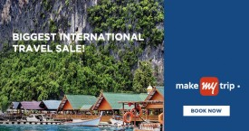Makemytrip MMT Flight Sale: Flat 4% Instant Discount On First International Flight Booking