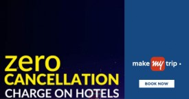 Makemytrip MMT Hot Deal : Zero Cancellation Charge on Hotels