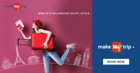 Makemytrip MMT Exclusive Offer : Get Upto 25% OFF on International Hotel Bookings