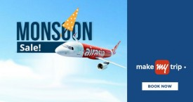 Makemytrip Monsoon Sale - Upto Rs. 20000 Instant Discount on Flight Across The Globe