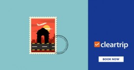 Cleartrip Cleartrip Offer : Get Upto Rs 2,500 cashback on Domestic Roundtrip Flight bookings