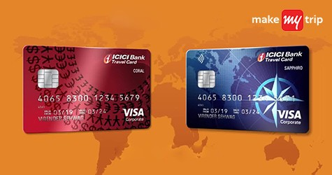 ICICI Cards MMT Offer : Get Upto Rs. 1450 Cashback on Domestic Flights