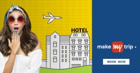 Makemytrip HDFC Bank Credit Cards : Upto Rs. 1,800 instant discount on Domestic Hotels