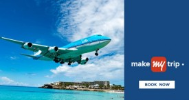 Makemytrip Domestic Flights : Flat Rs. 400 Instant Discount at Order Value between Rs. 10,000 - Rs. 15,000