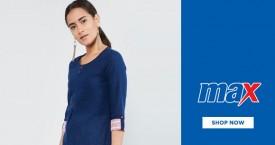 Maxfashion Best Price : Women's Kurtas Starting From Rs.399