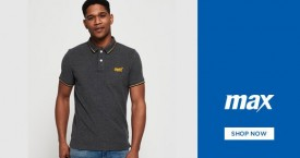 Maxfashion Best Deal : Polos Starting From Rs. 349