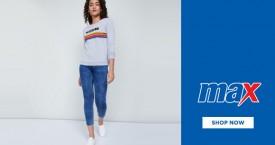 Maxfashion Best Price : Women's Sweatshirts Starts From Rs. 499
