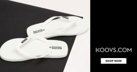 Koovs Best Deal : Upto 50% Off on Men's Footwear
