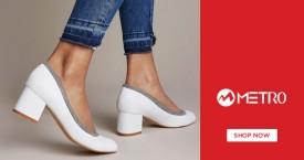 Metroshoes Great Deal : Women's Footwear Upto 50% Off