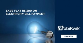 Mobikwik Save Flat Rs. 300 on Electricity Bill Payments