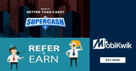 Mobikwik Referral Offer : Refer And Earn Upto Rs. 5000 Supercash