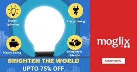 Moglix Best Offer : LED & Lights Upto 75% Off