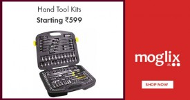 Moglix Best Deal : Hand Tool Kits Starting at Rs. 559