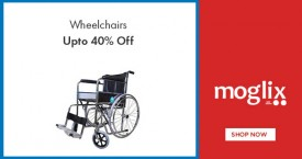 Moglix Hot Deal : Upto 40% Off on WheelChairs